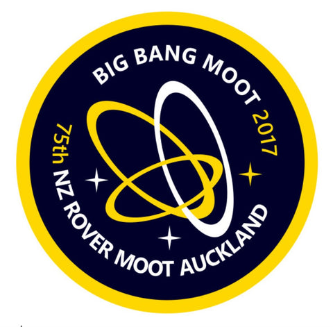 BLANKET PATCH - BIG BANG MOOT 2017 - 75TH NZ ROVER MOOT AUCKLAND