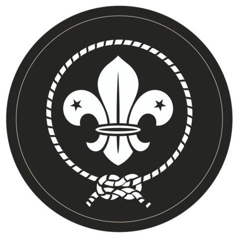 BLANKET PATCH - BLACK AND WHITE MEMBERSHIP - 70MM