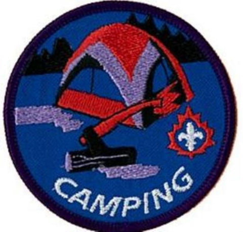 BLANKET PATCH - CAMPING