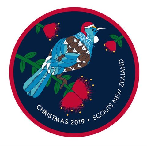 BLANKET PATCH - CHRISTMAS 2019 - SCOUTS NEW ZEALAND