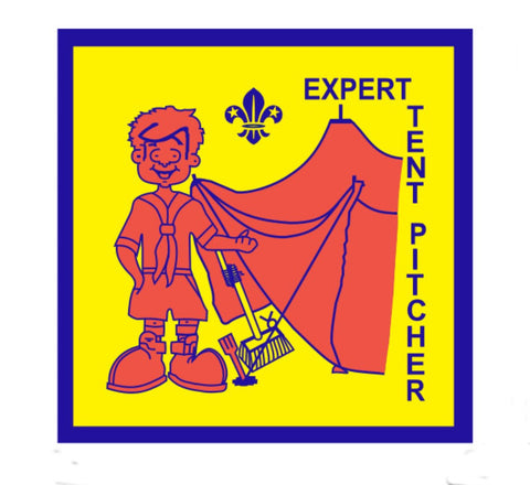 BLANKET PATCH - EXPERT TENT PITCHER