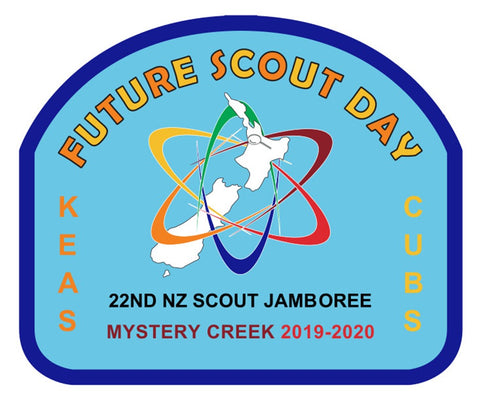 BLANKET PATCH - FUTURE SCOUT DAY - 22ND NZ SCOUT JAMBOREE