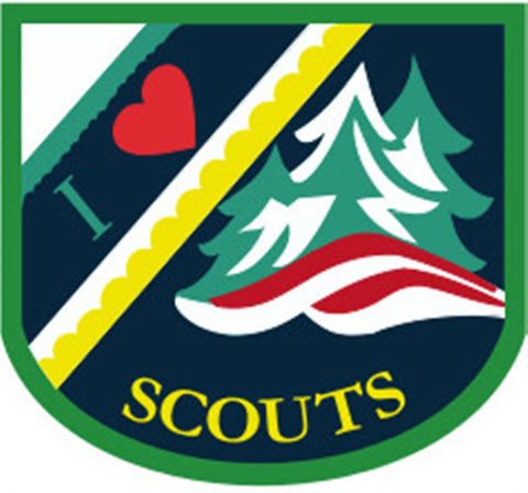 BLANKET PATCH - I LOVE SCOUTS