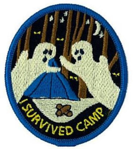 BLANKET PATCH - I SURVIVED CAMP