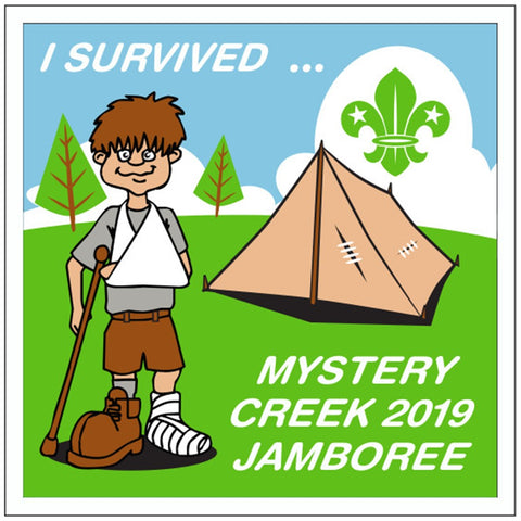 BLANKET PATCH - I SURVIVED MYSTERY CREEK 2019 JAMBOREE