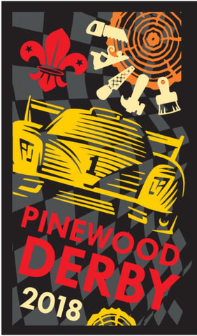 BLANKET PATCH - PINEWOOD DERBY 2018