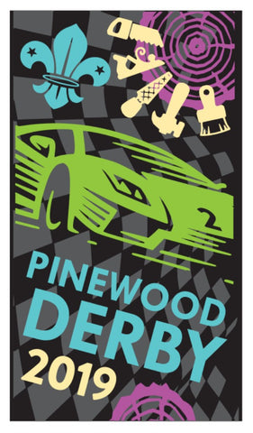 BLANKET PATCH - PINEWOOD DERBY 2019