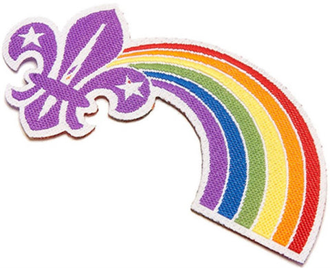 BLANKET PATCH - PRIDE IN SCOUTING RAINBOW