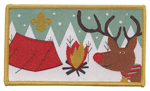 BLANKET PATCH - REINDEER