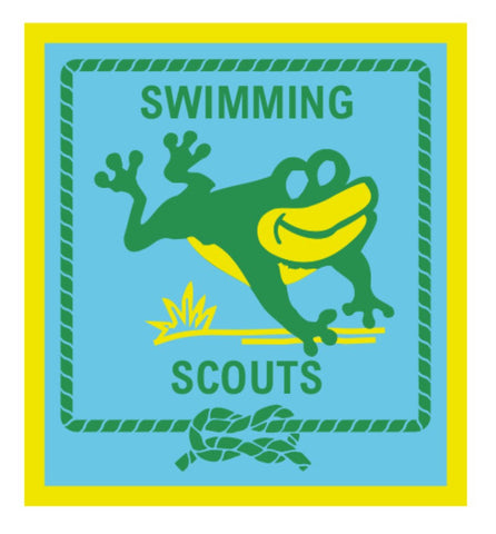 BLANKET PATCH - SWIMMING SCOUTS