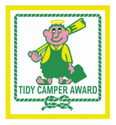BLANKET PATCH - TIDY CAMPER AWARD