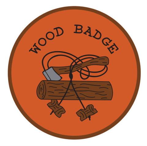BLANKET PATCH - WOOD BADGE