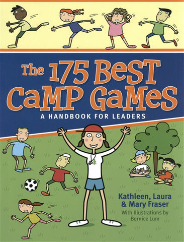 BOOK - THE 175 BEST CAMP GAMES - A HANDBOOK FOR LEADERS