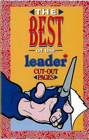 BOOK - THE BEST OF THE LEADER CUT-OUT PAGES