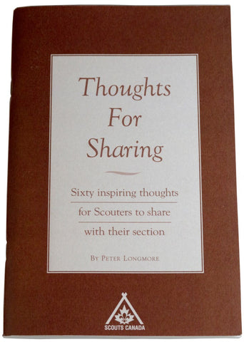 BOOK - THOUGHTS FOR SHARING