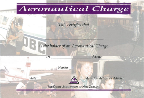 CERTIFICATE - AERONAUTICAL CHARGE