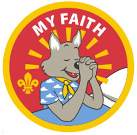 CUB BADGE - MY FAITH