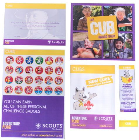 CUB INVESTITURE PACK