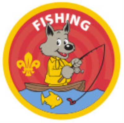 CUB BADGE - FISHING
