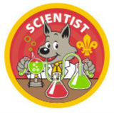 CUB BADGE - SCIENTIST