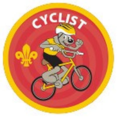 CUB BADGE - CYCLIST