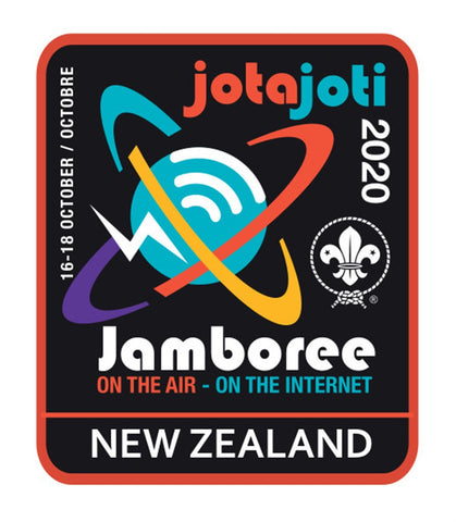 EVENT BADGE - JOTA JOTI NEW ZEALAND 2020