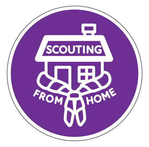 EVENT BADGE - SCOUTING FROM HOME