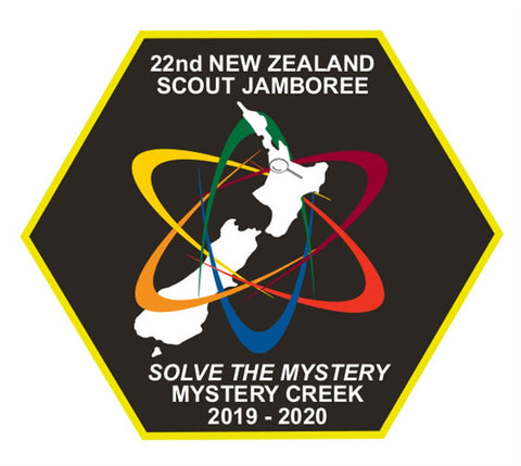 EVENT BADGE - 22ND NEW ZEALAND SCOUT JAMBOREE