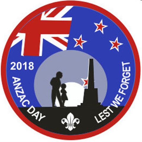 EVENT BADGE - ANZAC DAY 2018 LEST WE FORGET