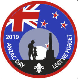 EVENT BADGE - ANZAC DAY 2019 LEST WE FORGET