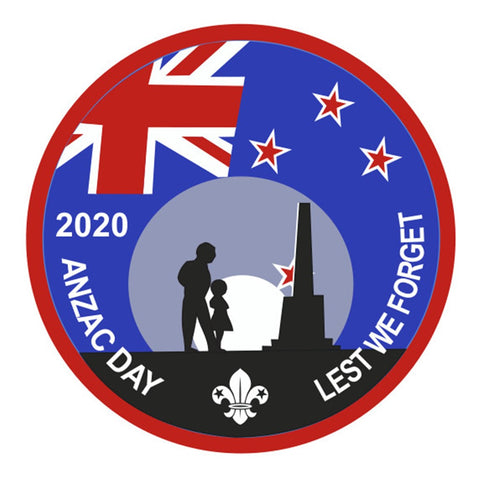 EVENT BADGE - ANZAC DAY 2020 LEST WE FORGET