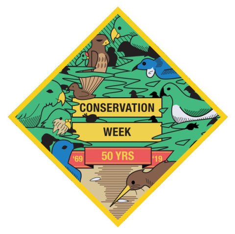 EVENT BADGE - CONSERVATION WEEK 50 YEARS
