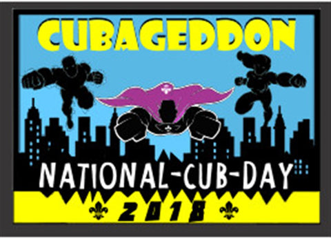 BLANKET PATCH - CUBAGEDDON - NATIONAL CUB DAY 2018