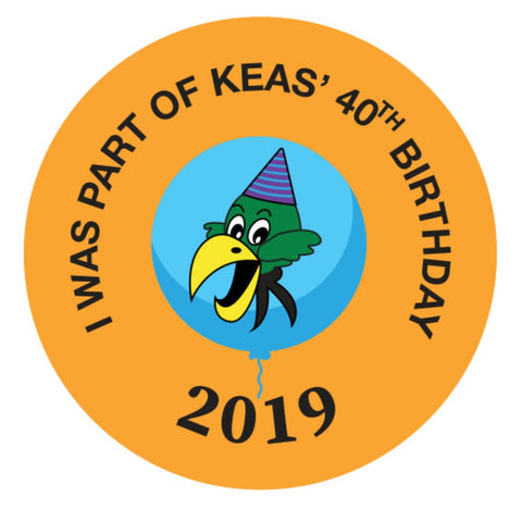 EVENT BADGE - I WAS PART OF KEAS' 40TH BIRTHDAY 2019
