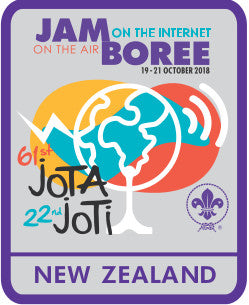 EVENT BADGE - JOTA JOTI NEW ZEALAND 2018