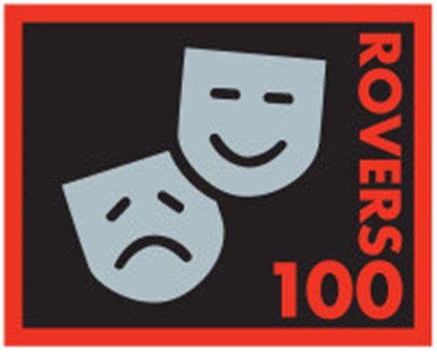EVENT BADGE - ROVERS 100 GANG SHOW