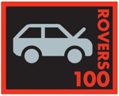EVENT BADGE - ROVERS 100 MUDBASH