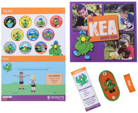 KEA INVESTITURE PACK WITH WOGGLE