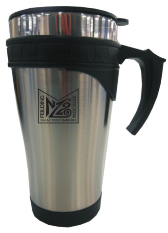 NZ20 TRAVEL MUG - Stainless Steel