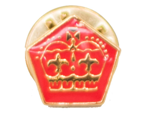 QUEEN'S SCOUT PIN - SMALL - RESTRICTED