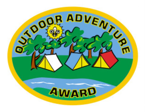 RESTRICTED - OUTDOOR ADVENTURE AWARD - CUB