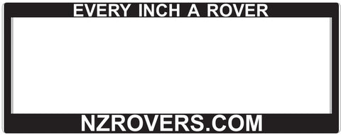 ROVER NUMBER PLATE SURROUND - ONE