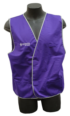 SAFETY VEST - PURPLE