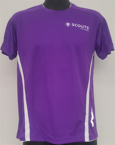 SCOUTS NEW ZEALAND QUICK DRY T-SHIRT