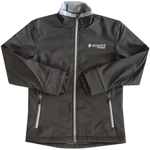 SCOUTS NEW ZEALAND SOFT SHELL JACKET