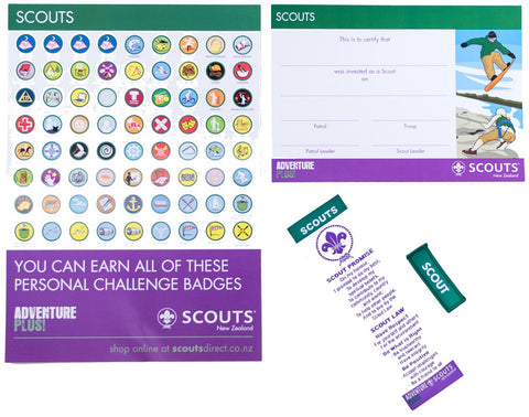 SCOUT INVESTITURE PACK