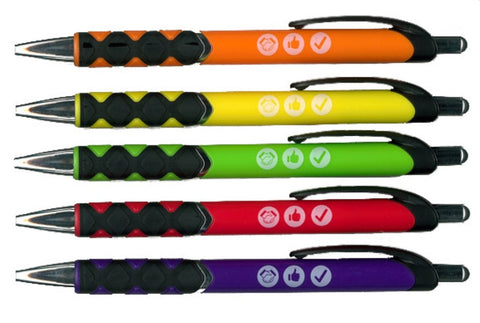 SCOUT VALUES PEN - VARIOUS COLOURS
