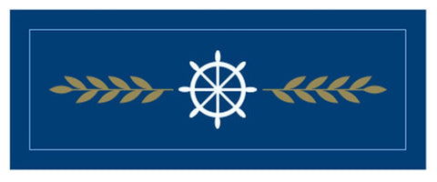 SEA SCOUT LEADERS CHARGE BADGE - RESTRICTED