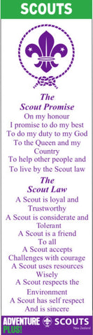 BLANKET PATCH - SCOUT BOOKMARK - OLD LAW AND OLD PROMISE