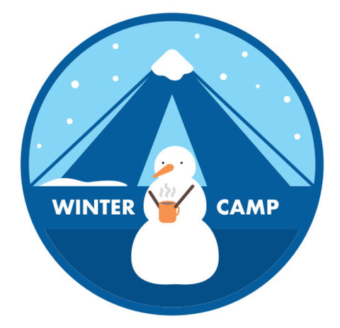 BLANKET PATCH - WINTER CAMP